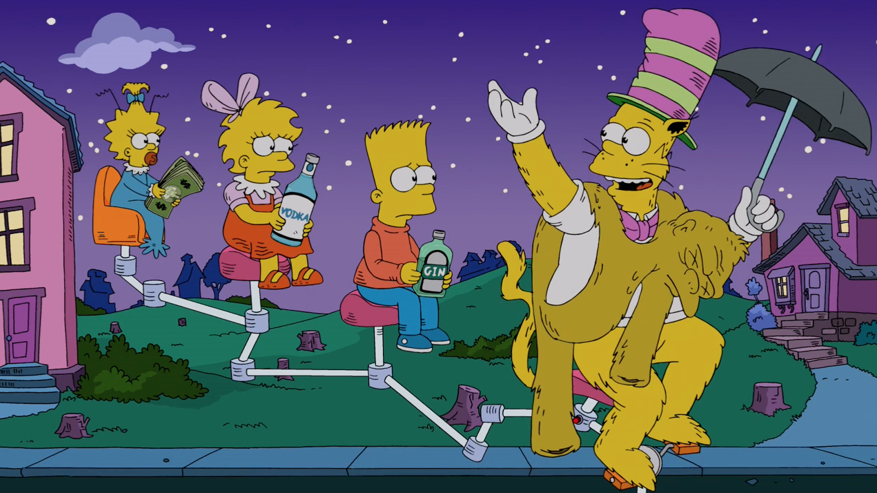 Names Of The Simpsons Cat